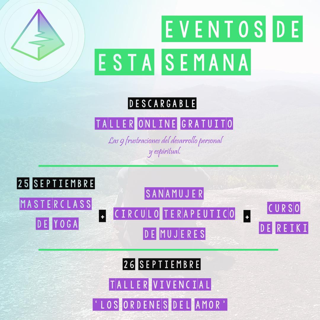 eventos septiembre 3